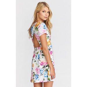 Show Me Your MuMu NWT Ibiza Floral Dress medium